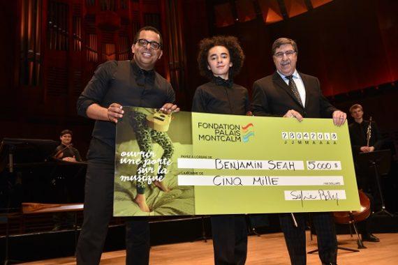 Le grand gagnant de la 3e saison de Virtuose récompensé par la Fondation Palais Montcalm