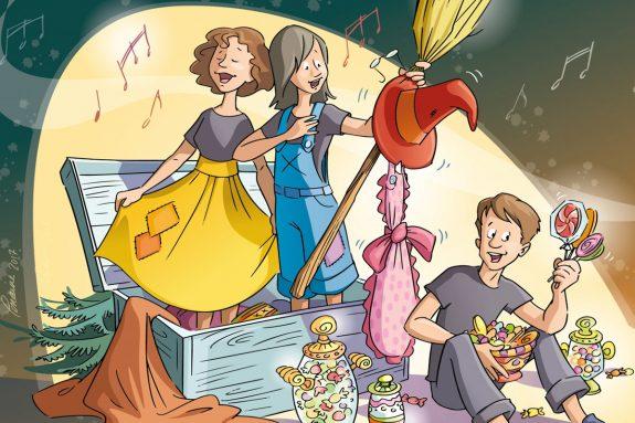 Opéra-bonbon l'aventure gourmande d'Hansel et Gretel au Palais Montcalm