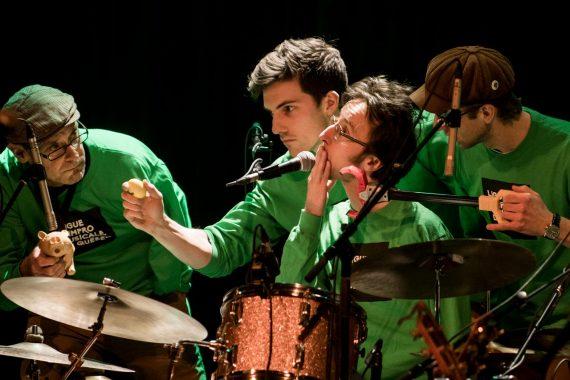 Match spécial de la Ligue d'improvisation musicale de Québec